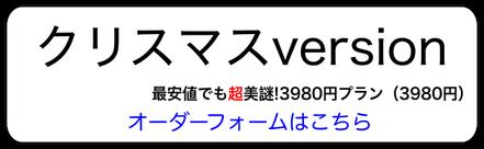 最安値でも超美謎!!4980円クリスマスversion