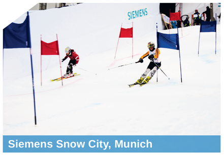 Siemens Snow City, Munich snowed by SnowBOX GmbH
