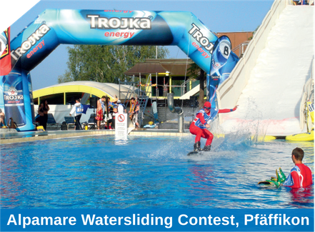 Alpamare Watersliding Contest, Pfäffikon
