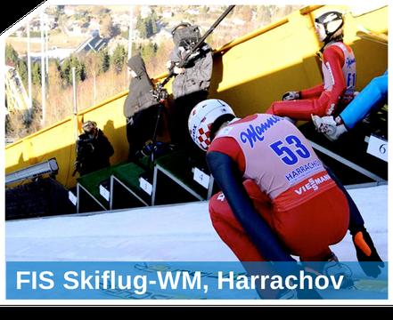 Mit unseren hochprofessionellen Snow-Industries Schneesystemen beschneien und präparieren Snow-Industries Skisprungschanzen auf Weltmeisterniveau.