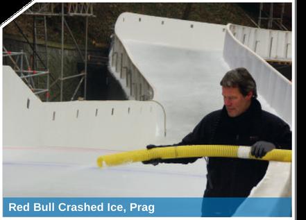 Red Bull Crashed Ice, Prag - realisiert mit der SnowBOX