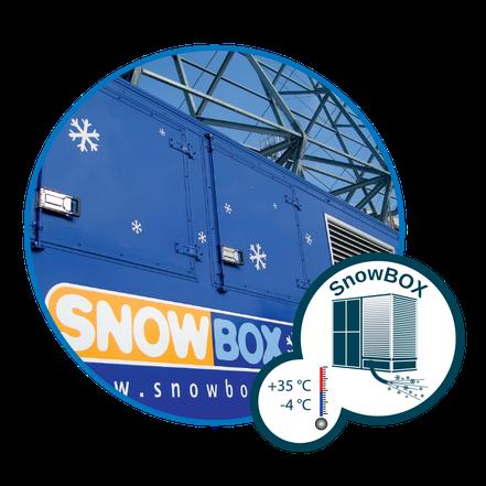 Schnee für alle Zwecke: die SnowBOX Technologie
