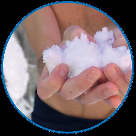 Die POWDErstream® WellnessBOX mit feinstem Schnee