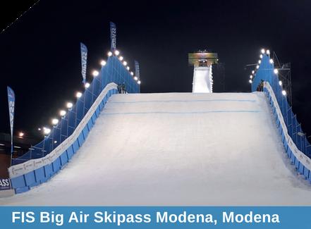 FIS Big Air Skipass Modena, Beschneiung