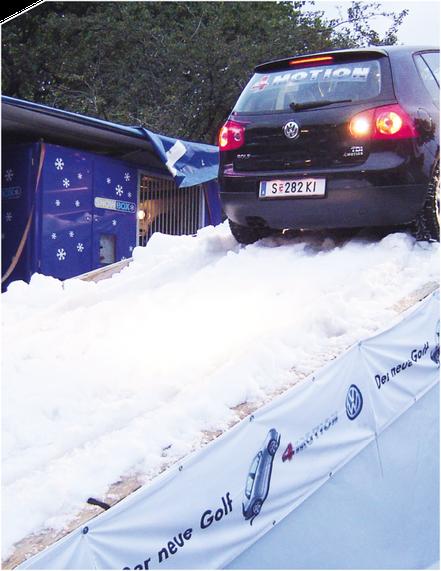 Schneesysteme von Snow-Industries sind optimal auf jeden Einsatz abgestimmt
