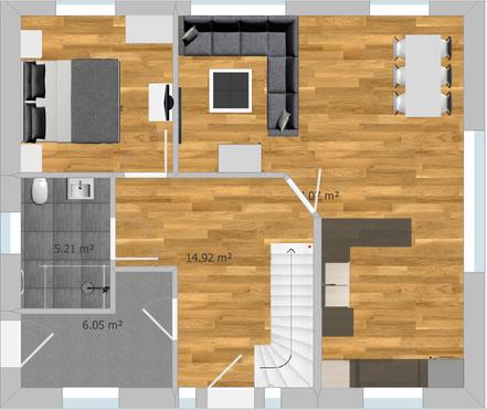 hier ist der Grundriss Erdgeschoss abgebildet