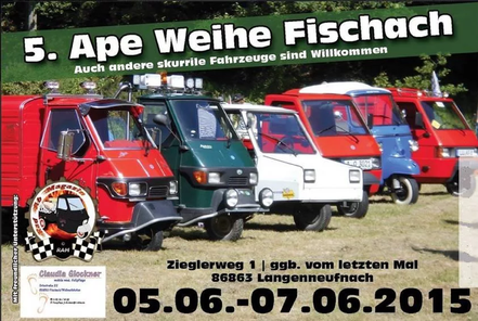 Ape Weihe in Fischach