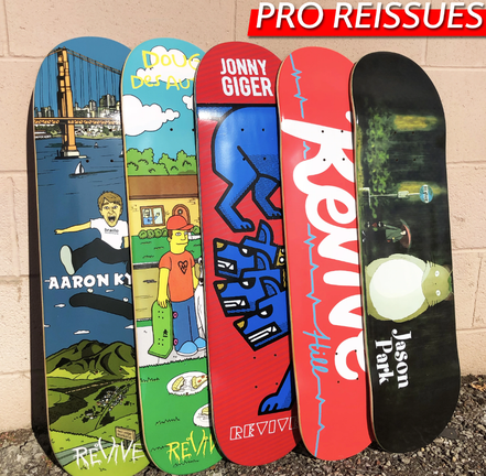 VMS Distribution Europe - Revive Skateboards Fall 2020 Decks Out Now! - Revive Fall 2020 Now Available in Germany, Austria & All over Europe through VMS Distribution. Fast Shipping all over Europe. Revive Pro Re-Issues!