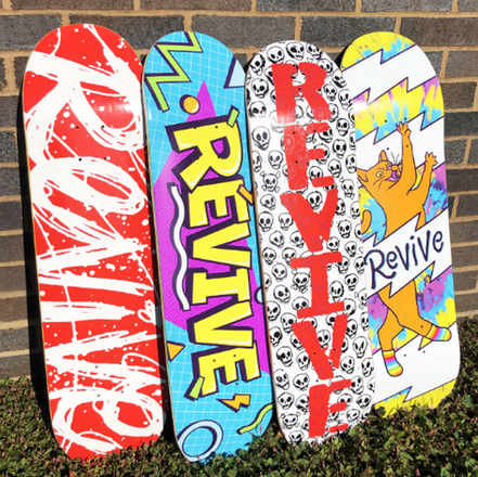 VMS Distribution Europe - Revive Skateboards Fall 2020 Decks Out Now! - Revive Fall 2020 Now Available in Germany, Austria & All over Europe through VMS Distribution. Fast Shipping all over Europe.