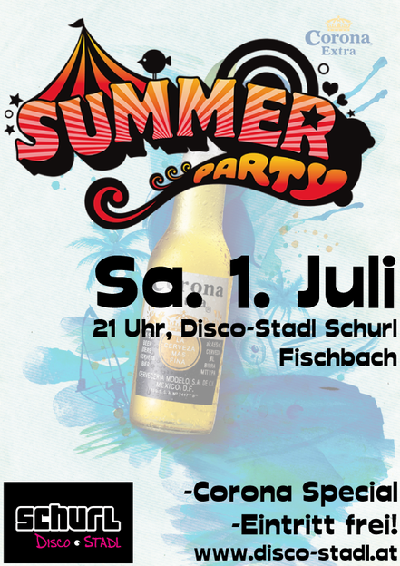 Plakat Summer Party 2017