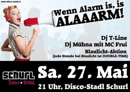 Alaaarm Party Plakat