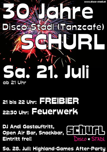 Plakat 30 Jahre Schurl