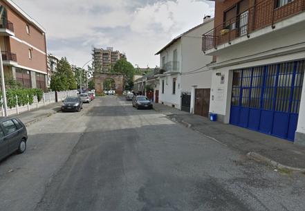 Strada della Pronda interior.