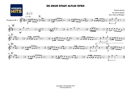 Alleen naar de Kermis Thijs Boontjes Show en Dansorkest Arrangement Dweilorkest Dweilband Hofkapel