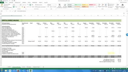 Excel Milchbüechli Einnahmen Ausgaben