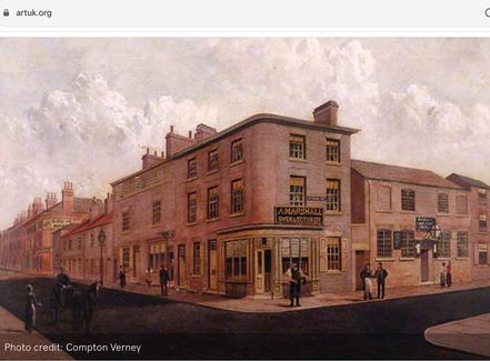 Arthur Goodwin, Nottingham, Oil, The Royal Children Inn