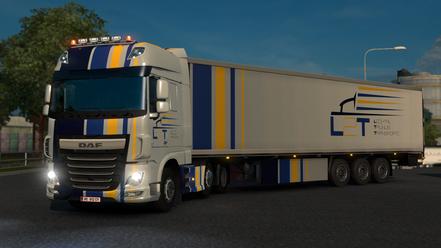 DAF XF Euro 6 mit L2T-Firmenlackierung