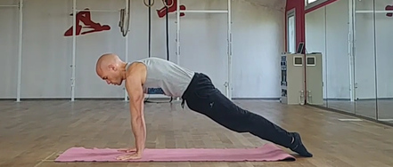 Handstand tutorial - the perfect plank