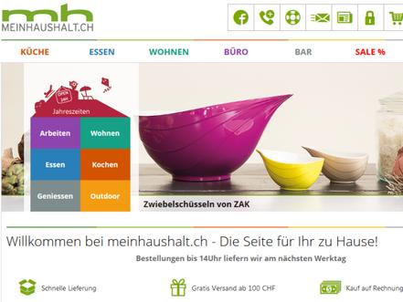 7387d45390a4f1 meinhaushalt.ch – ein Onlineshop für Haushaltswaren mit Wurzeln in Gossau