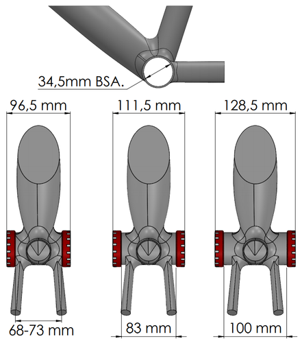 BSA threaded Bottom Bracket