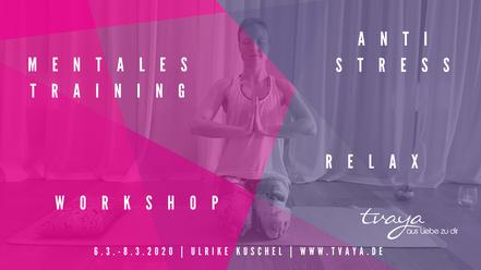 Yoga Tvaya Mental Coaching Workshop Schmargendorf Grunewald Dahlem