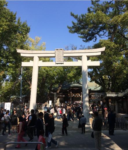 石切剣箭神社 (筆者撮影)