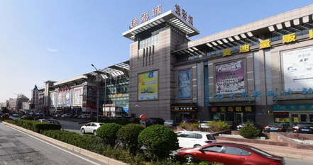 遼寧師範大学門前商店街