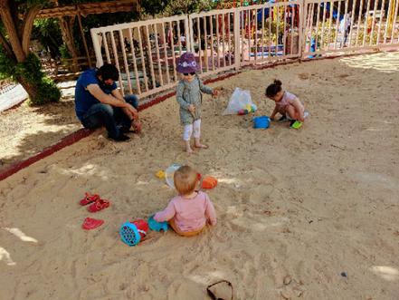 Zwei Johannas im großen Sandkasten