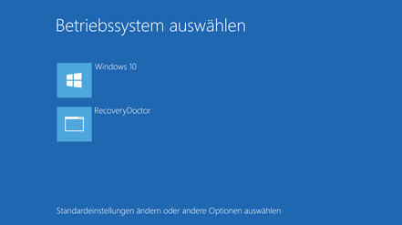 Windows Startmenü