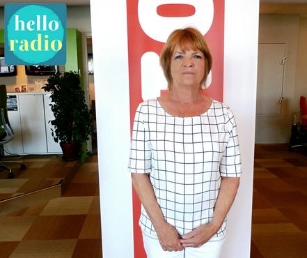 Mirjam Ruwette-Quekel van Airport Medical Services bij Hello Radio