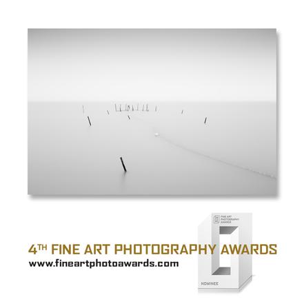 Ringkobing Fjord, Denmark, Nebel, misty, photography, Minimalismus, Fotografie, minimalism, minimalist, minimalistisch, Holger Nimtz, Wandbild, Kunst, fine art, Fotokunst,