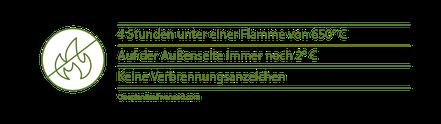 Hanfstein Feuer Test