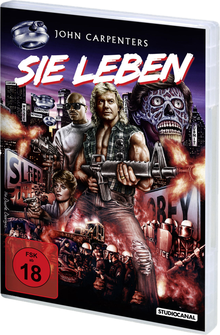 Sie leben - They Live - John Carpenter - Studiocanal - kulturmaterial - DVD