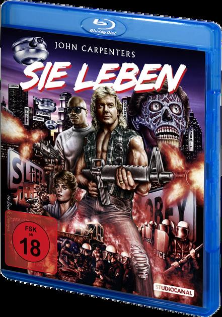 Sie leben - They Live - John Carpenter - Studiocanal - kulturmaterial - Blu-ray