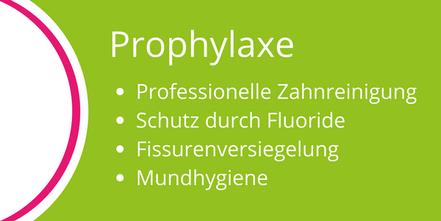 Prophylaxe-Behandlungen in der Zahnarztpraxis Lammers, Neu-Isenburg