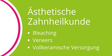 Ästhetische Zahnbehandlung mit Bleaching, Veneers, vollkeramischer Versorgung in der Zahnarztpraxis Lammers, Neu-Isenburg