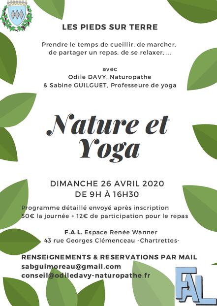 Visuel Nature et Yoga