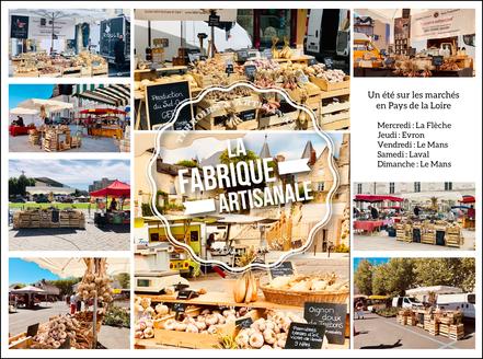 Tournée de marchés en Pays de la Loire | Année 2020