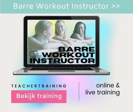 Barre instructor opleiding in Nederland