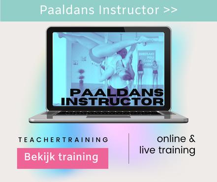 Opleiding tot paaldansinstructeur , paaldans instructor in Nederland