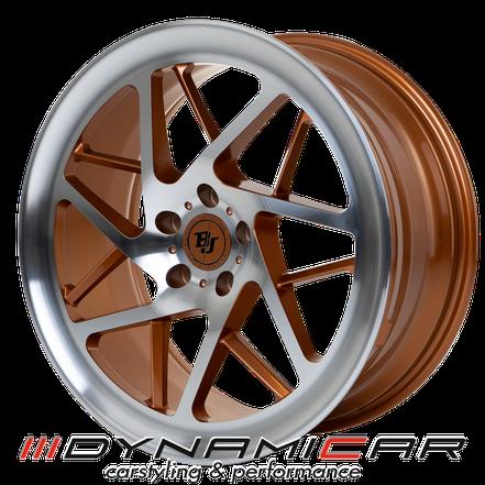 BJ-WHEELS V3 RACE | COPPER POLISHED