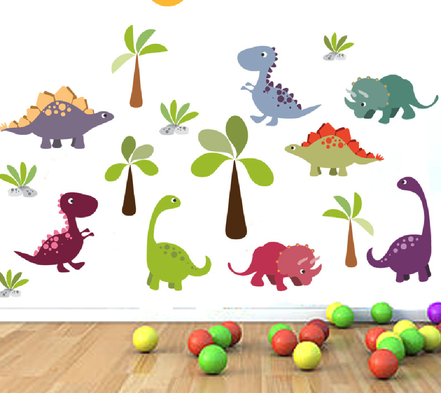 Illustrations for Wall Decals | Design By Pie