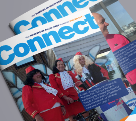 Diabetes South West Newsletter | Design By Pie
