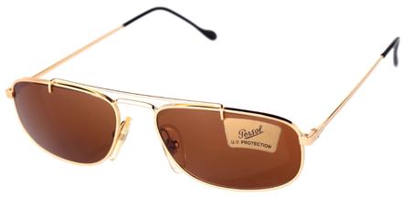 Occhiali Vintage Persol Ratti Modello: EM633. Colore: oro. Colore lenti: marrone. Prezzo € 166,00 spedizione gratis. Materiale: metallo. Protezione raggi UV: 100%
