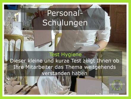 Test Hygiene Gastronomie