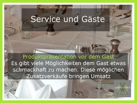 aktiver Verkauf Gastronomie