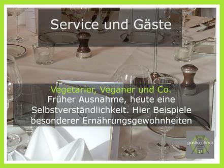 Veganer als Gäste