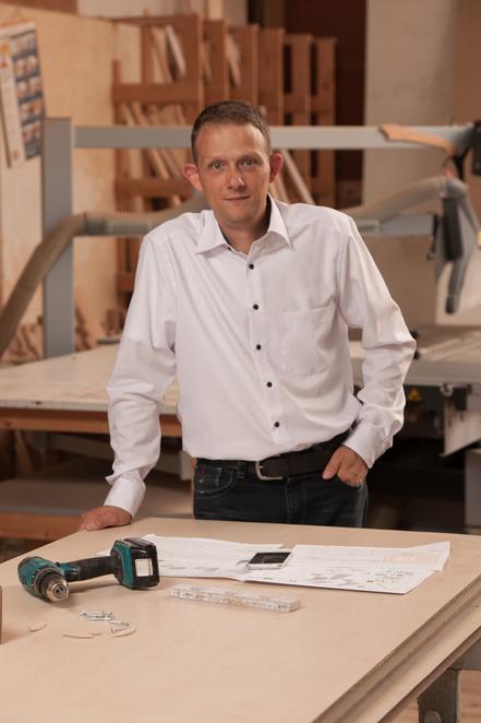 Sachverständiger Tischlerhandwerk Portrait Marc Schütt