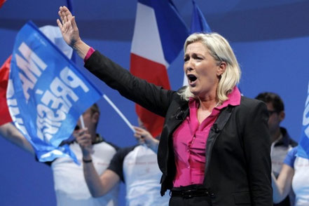 Front Nationals leder Marine Le Pen