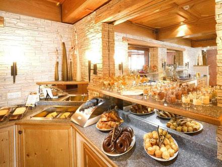 Business-Frühstück im Hotel Sonne